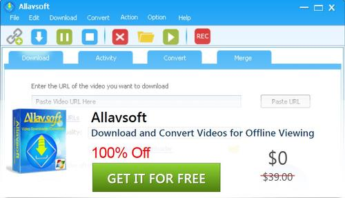 Allavsoft Download and Convert Videos for Offline Viewing Worth $39.00 For Free