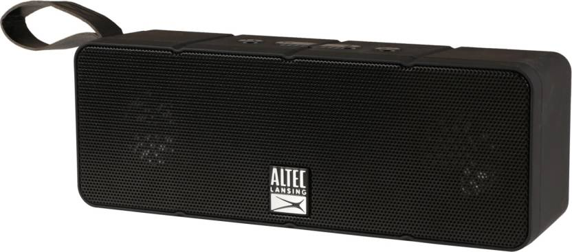 Altec Lansing IMW140 Dual Motion Portable Bluetooth Mobile/Tablet Speaker  (Black, Stereo Speaker Channel)
