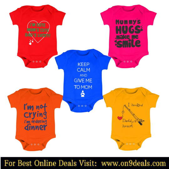 Amazon - Baby Clothes Minimum 50% Discount Starting From Rs.98