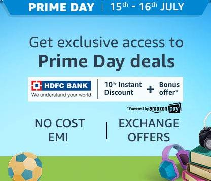 Amazon Prime Day Sale Only For Prime Members From 15th - 16th July