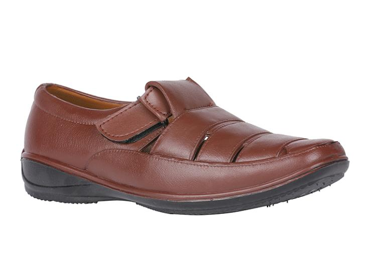 Bata SANDAK Brown Sandals For Men @ Rs.209