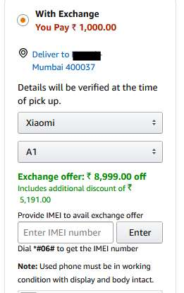 Big Loot Honor 7X Exchange Your Mobile & Get Upto Rs.9000 Discount
