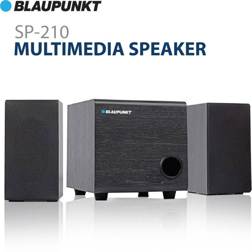 Blaupunkt SP-200 Bluetooth Home Audio Multimedia Portable 2.1 Speaker