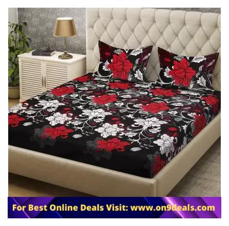 Bombay Dyeing BedSheets 70% Discount Starting From Rs.299