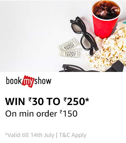 Bookmyshow - Book a Movie Ticket & Get Upto Rs.250 Cashback With Amazon Pay