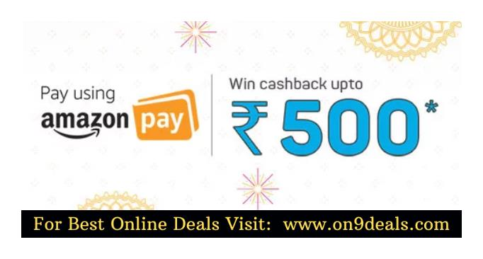 Bookmyshow - Get Upto Rs.500 Cashback on Movie Tickets With AmazonPay