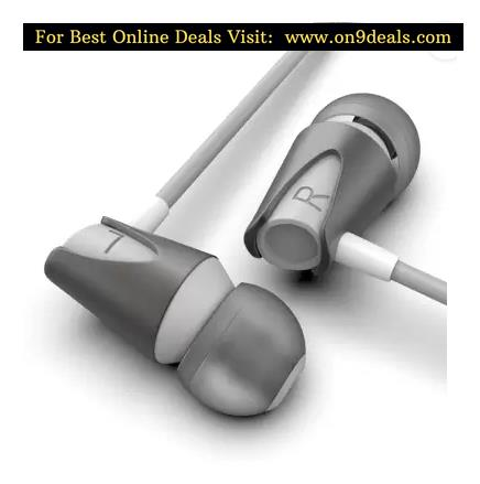 Boult Audio BassBuds Storm Wired Headset  (Grey, Wired in the ear)
