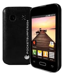 Datawind Pocket Surfer 2 G4 - Cheapest Smart Phone (Dual Sim, Android)