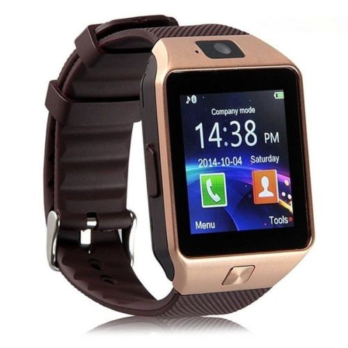DZ09 Smartwatch Phone For Android IOS Bluetooth,Camera,Sim & Memory Slot