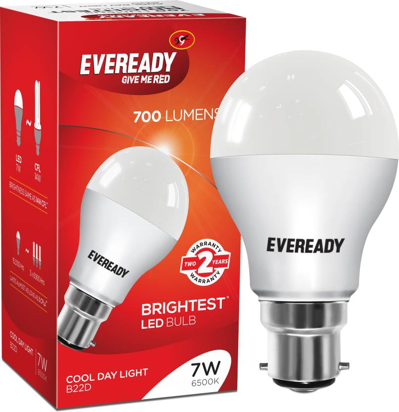 Eveready 7 W B22 LED Bulb