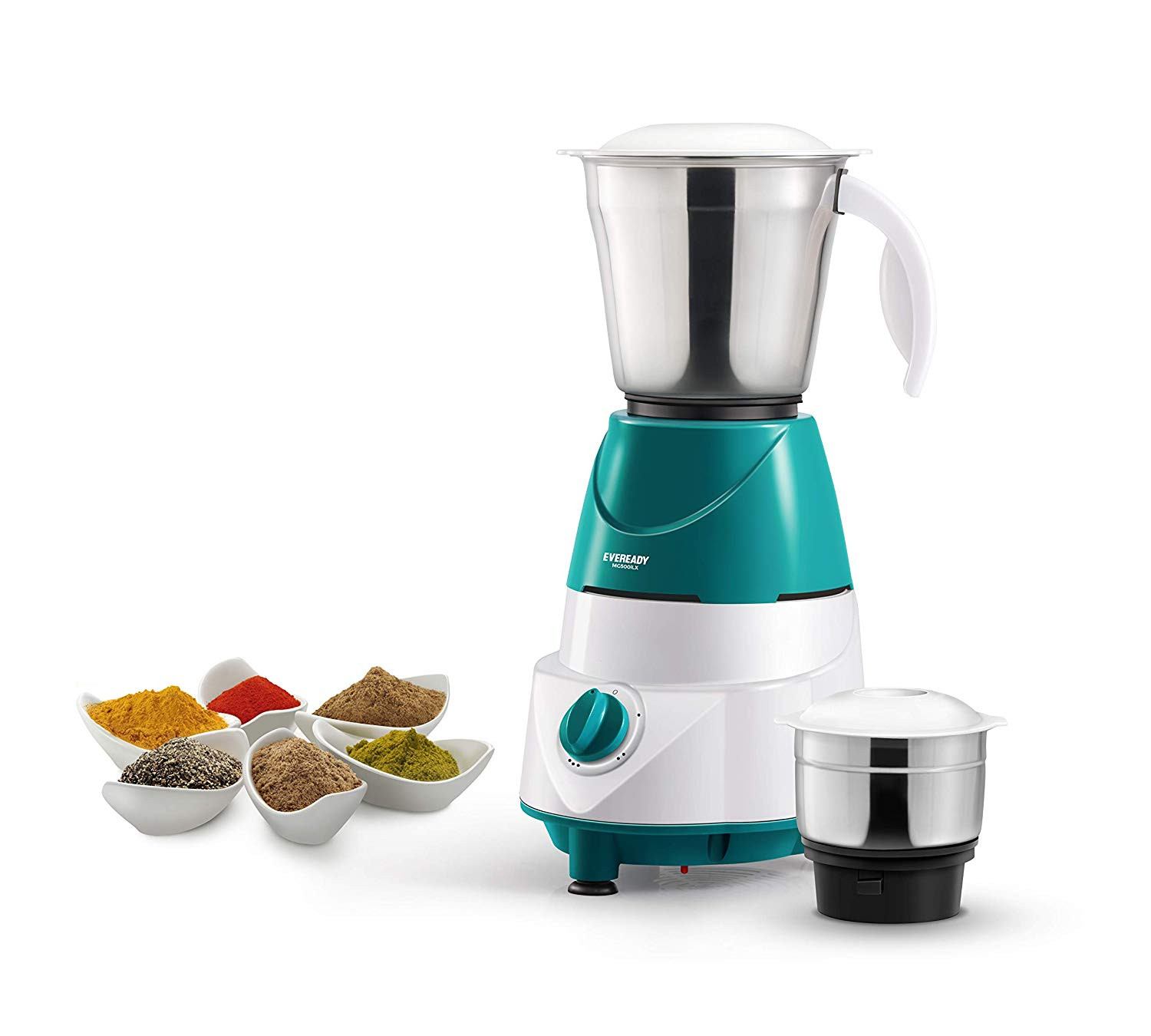 Eveready MG500i LX 500-Watt Mixer Grinder with 2 Jars