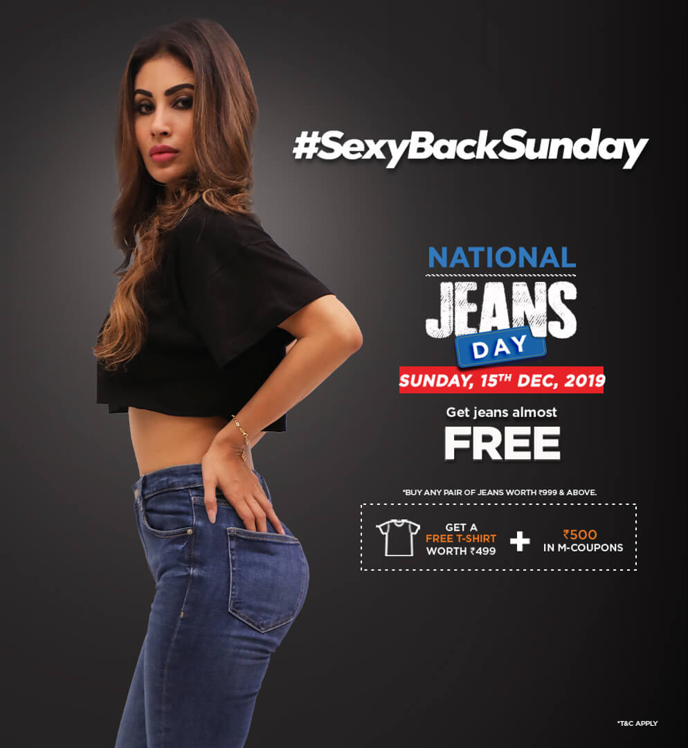 FBB - National Jeans Day Get A Pair Jeans For Free