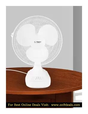 Flipkart SmartBuy T16NSY 400 mm 3 Blade Table Fan With 2 Years Warranty
