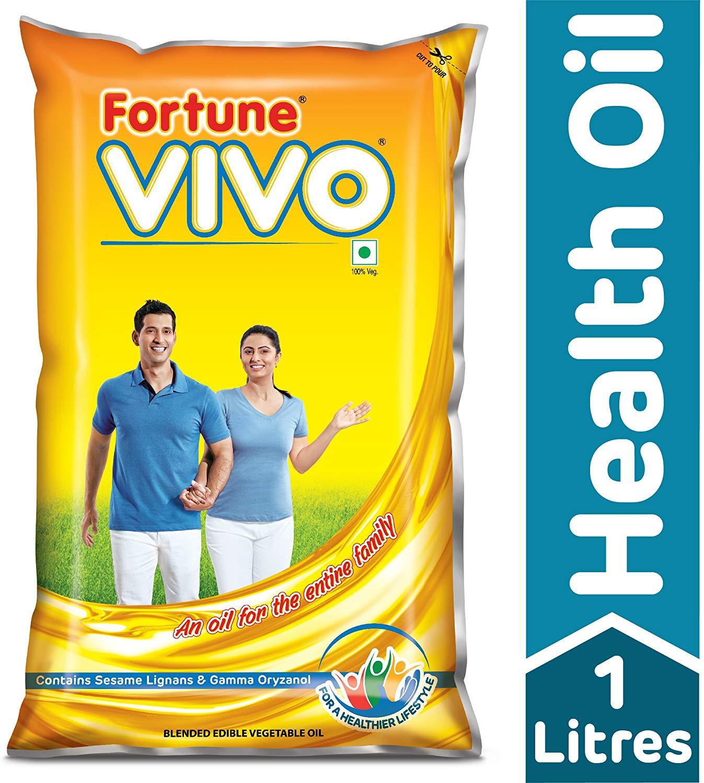 Fortune Vivo Diabetes Care Oil Pouch, 1L