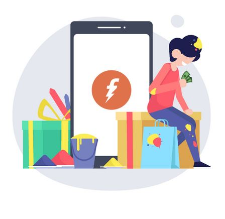 Freecharge - Rs.20 Cashback on Mobile Recharge of Rs.50