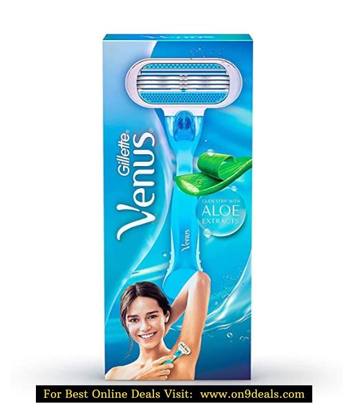 Gillette Venus Hair Removal Razor for Women (Aloe Extracts)