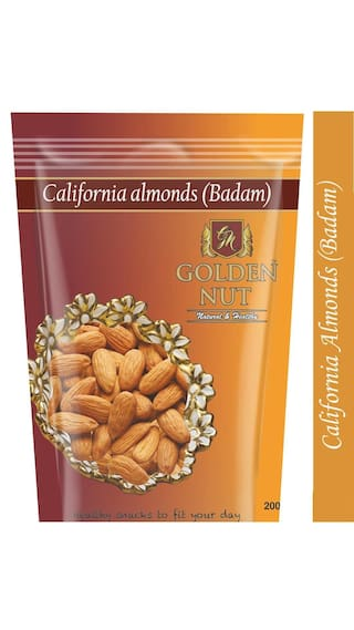 Golden Nut Almonds 400Grams