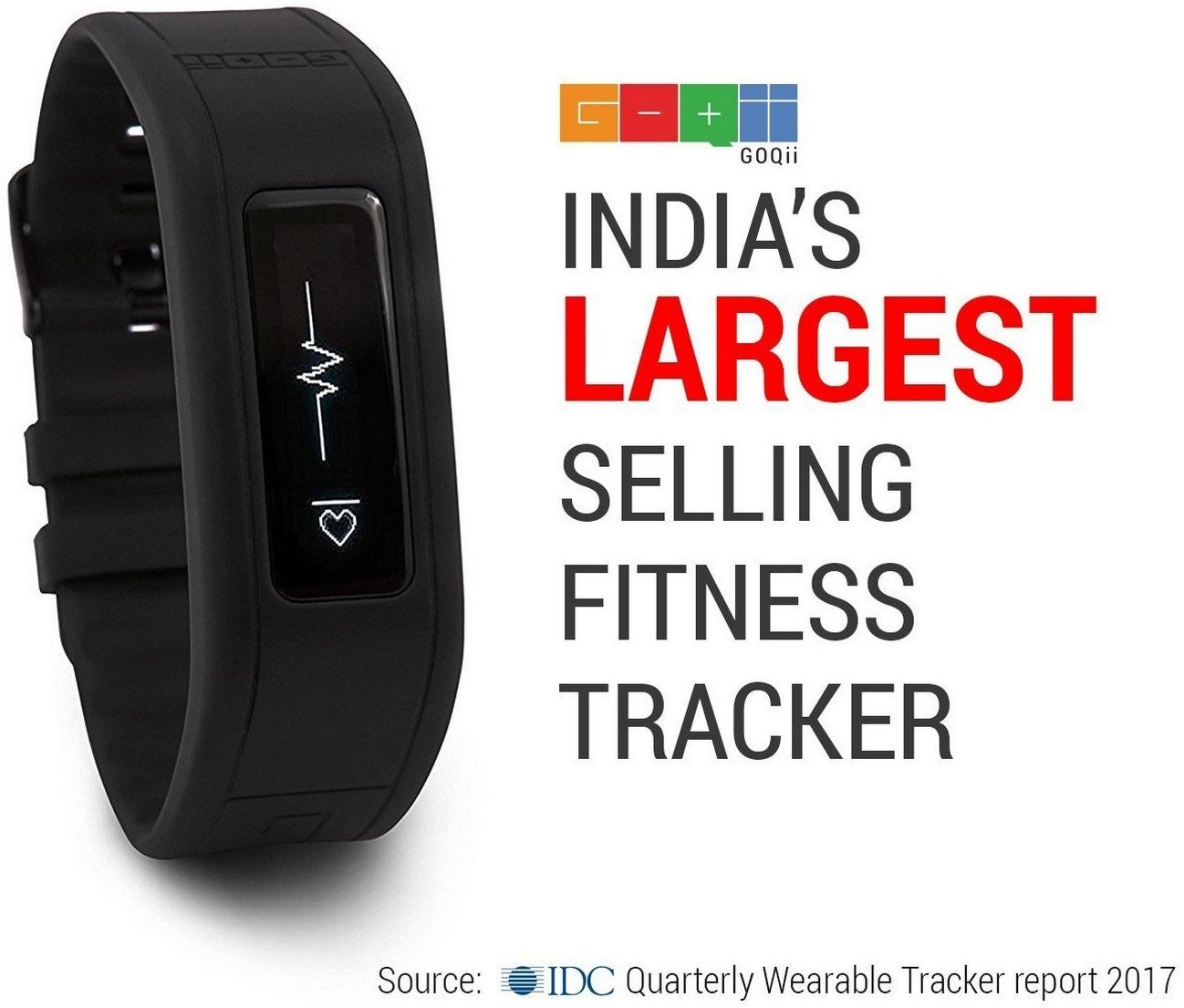 GOQii Fitness Tracker with Personal Coaching