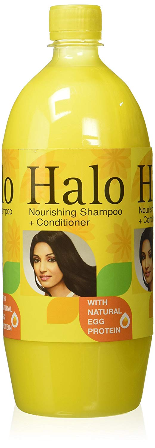 Halo Nourishing Shampoo with Natural Egg Protien, 1 Litre