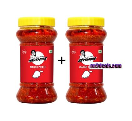 HaveMore Mango Pickle (Jar) - Buy 1 Get 1 Free
