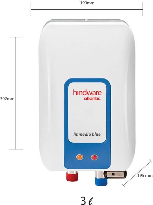 Hindware 3 L Instant Water Geyser