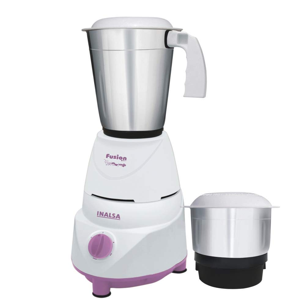 Inalsa Fusion 550-Watt Mixer Grinder with 2 Jar
