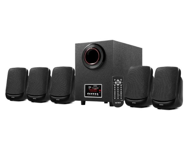Intex IT- 5100SUF-OS 5.1 Channel Multimedia Speakers