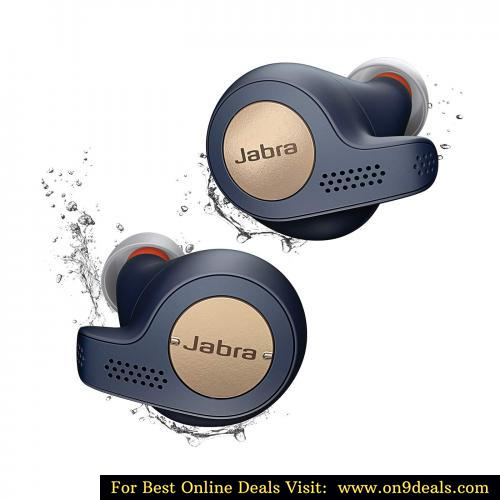 Jabra Elite Active 65t Alexa Enabled True Wireless Sports Earbuds