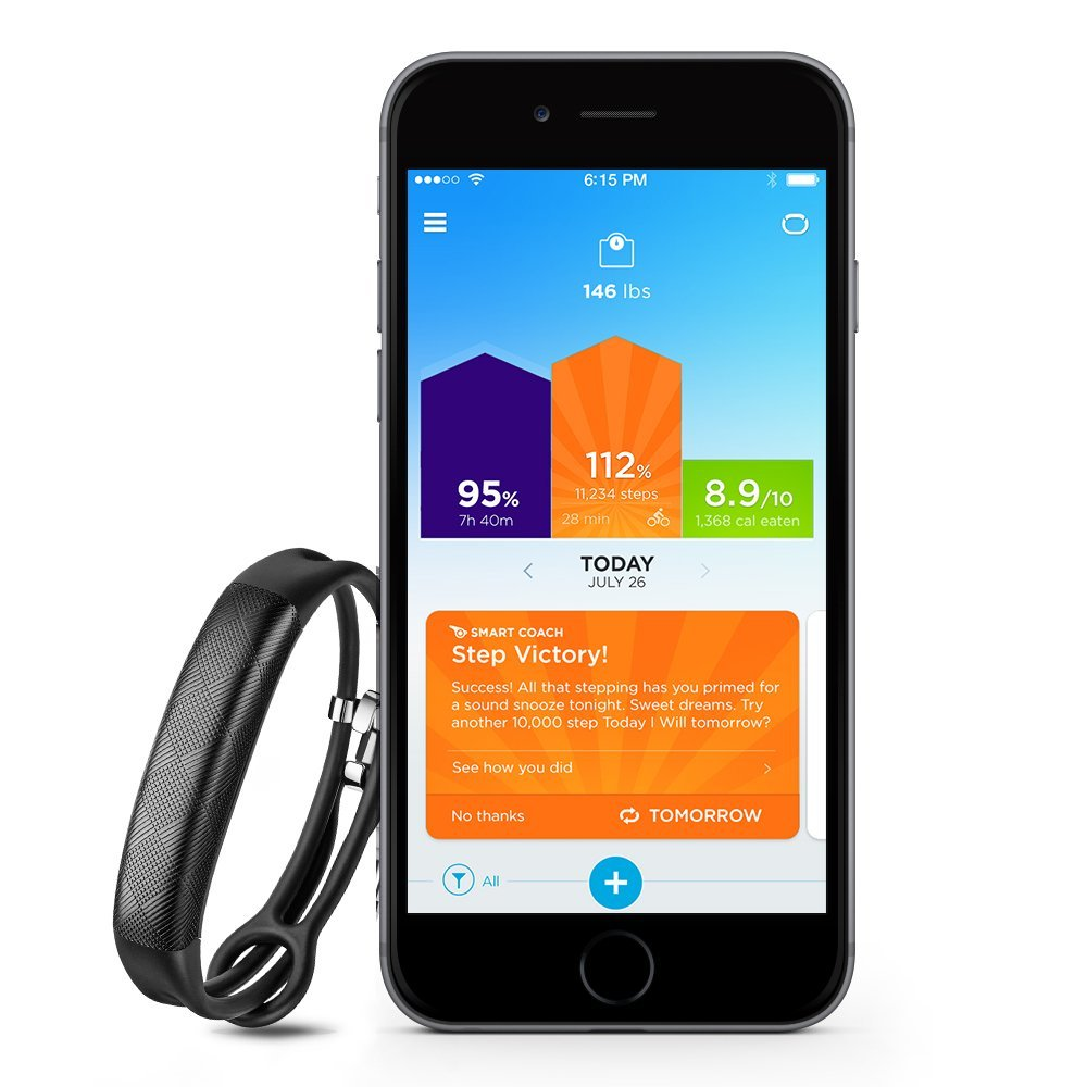 Jawbone UP2 Activity Tracker for iOS and Android