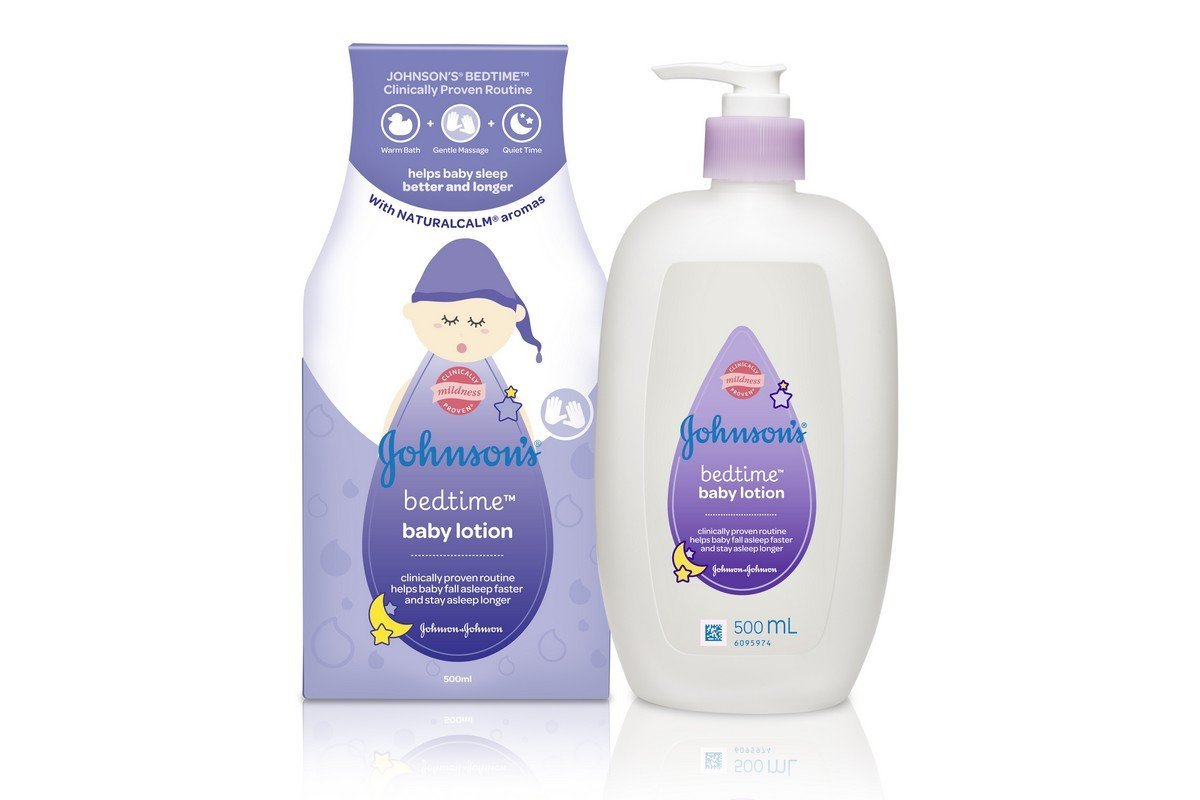 Johnson's Bedtime Baby Lotion, 200ml