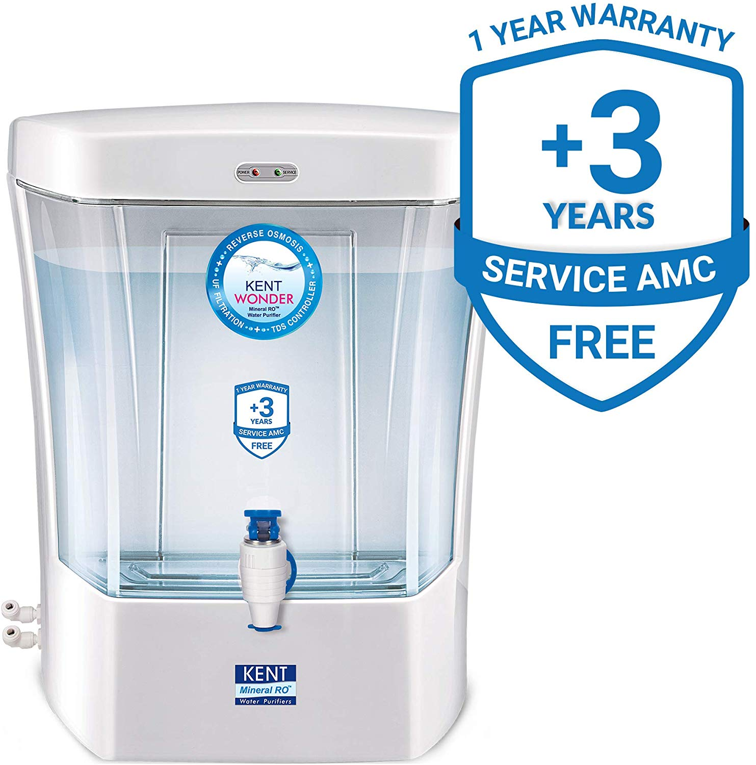 KENT Wonder 7-Litres Wall-mounted / Counter-top RO Water Purifier