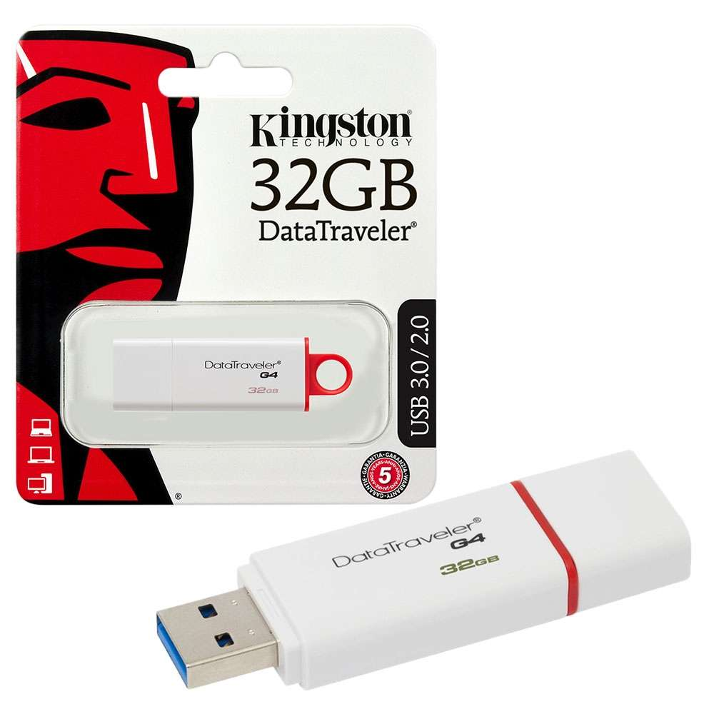 Kingston DTIG4 USB 3.0, 32 GB Pen Drive