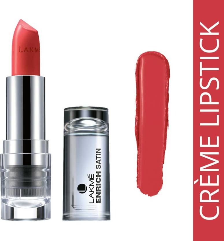 Lakme Enrich Satin Lip Color @ 50% Discount From Rs.135