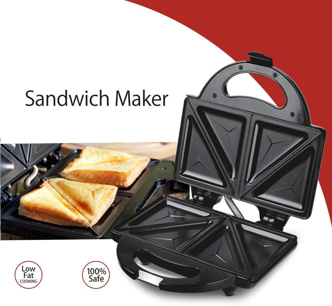 Lifelong LLSM115T 750-Watt 4-Slice Sandwich Maker