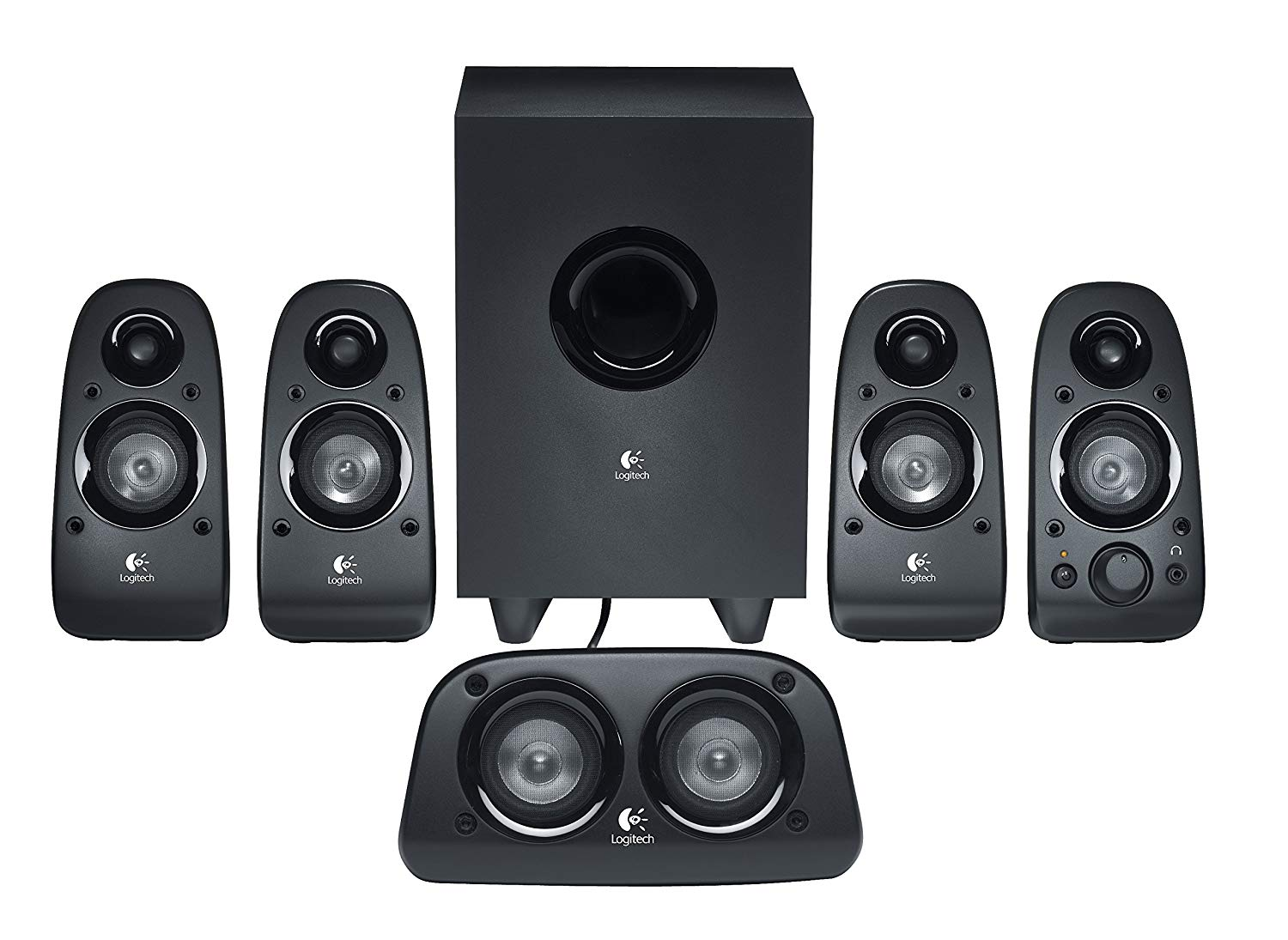 Logitech Z506 5.1 Channel Surround Sound Multimedia Speakers