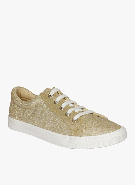 Lovely Chick Golden Casual Sneakers
