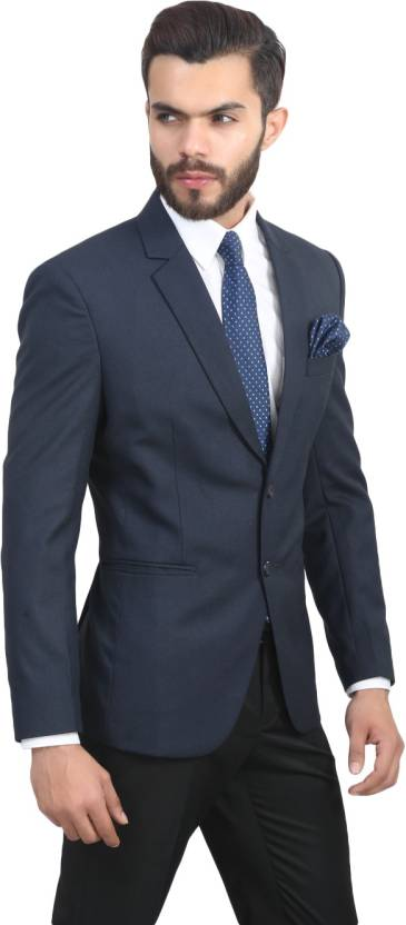 ManQ Solid Formal Men's Blazer Flay 71% Discount Strats From Rs.1699 Worth Rs.5199