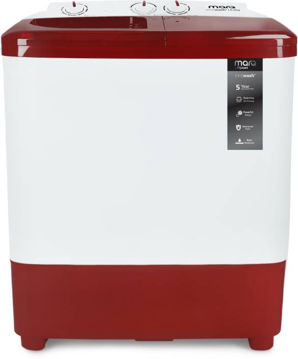MarQ by Flipkart 6.5 kg Semi Automatic Top Load Washing Machine