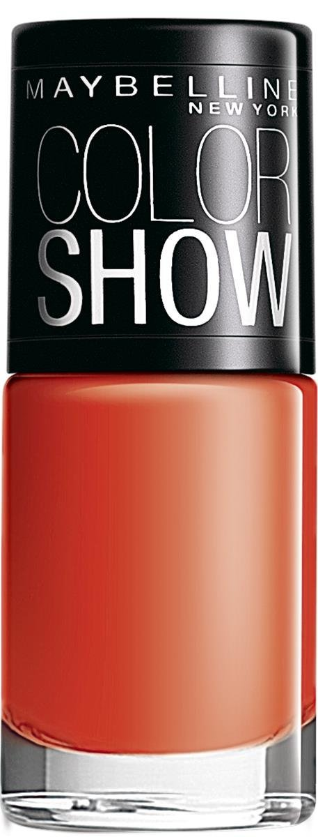 Maybelline Color Show Nail Enamel, Orange Fix 214 (6 ml)