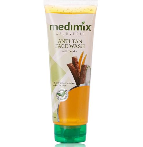 Medimix Ayurvedic Anti Tan Face Wash - 100 ml Pack of 3