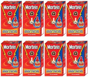 Mortein Power Booster Mosquito Repellent Vaporizer Refill 45 ml - Pack of 8