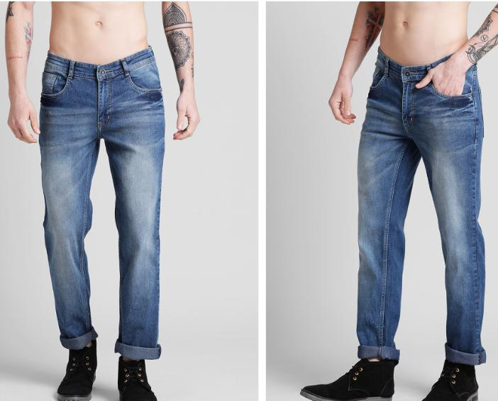 Myntra Buy 2 Jeans Worth Rs.4500  @ Rs.1348
