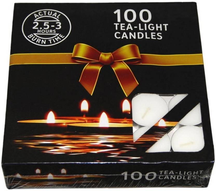 Nanki Trades Candles 100 Tea Lights Candle