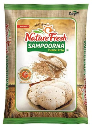 Nature Fresh Atta 10Kg 1Pc @ Rs.264 After Cashback + FreeShipping.