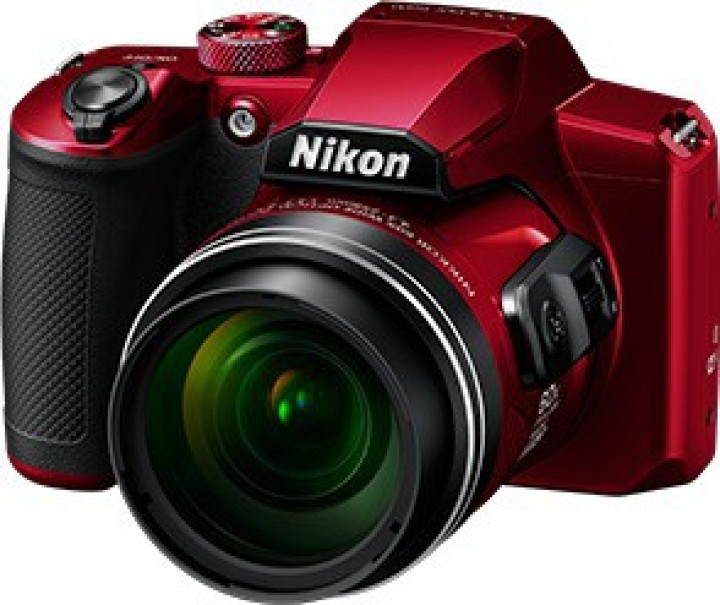 Nikon COOLPIX B600(16 MP, 60x Optical Zoom, 4x Digital Zoom, Red, Black)