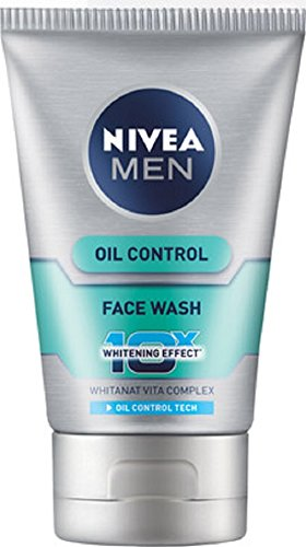 Nivea Men Oil Control 10x Whitening Face Wash, 100g