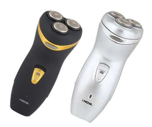 Nova Razor Shaver Three Cutter Head Triple Blade Three Blade with Hair Trimmer
