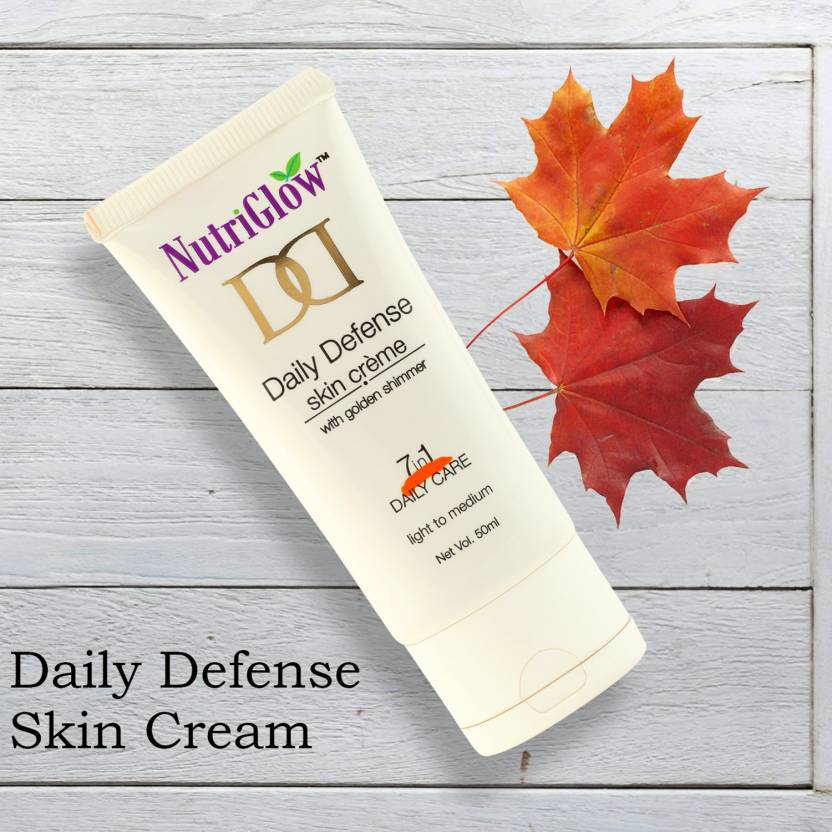 NutriGlow Daily Defense Skin Creame 50g (Pack Of 1)  (50 g)
