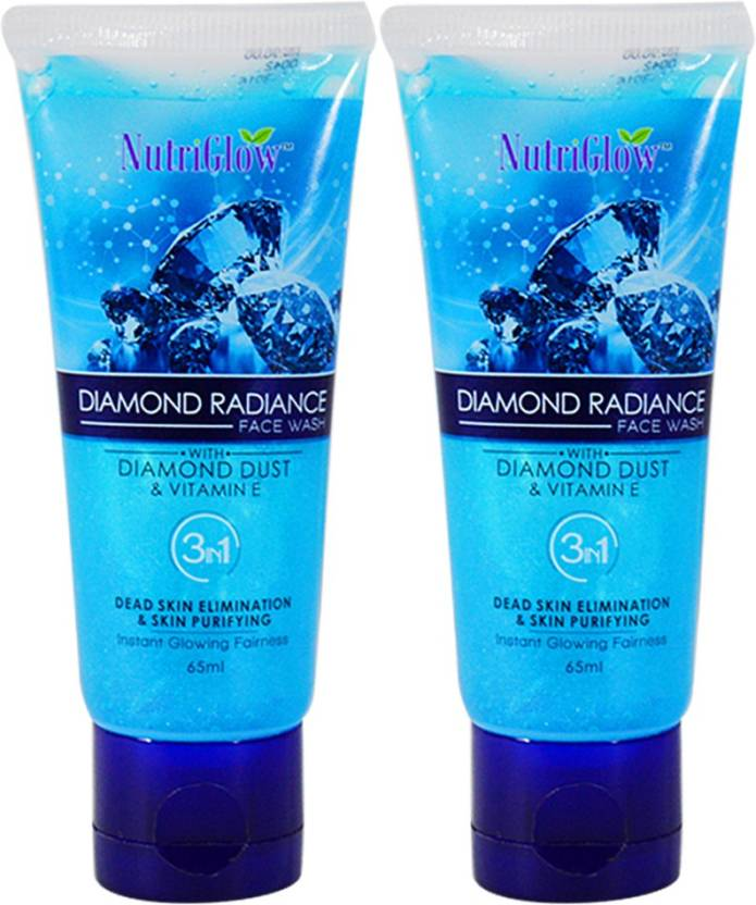 NutriGlow Diamond Face Wash 65ml (Pack Of 2) Face Wash  (65 ml)