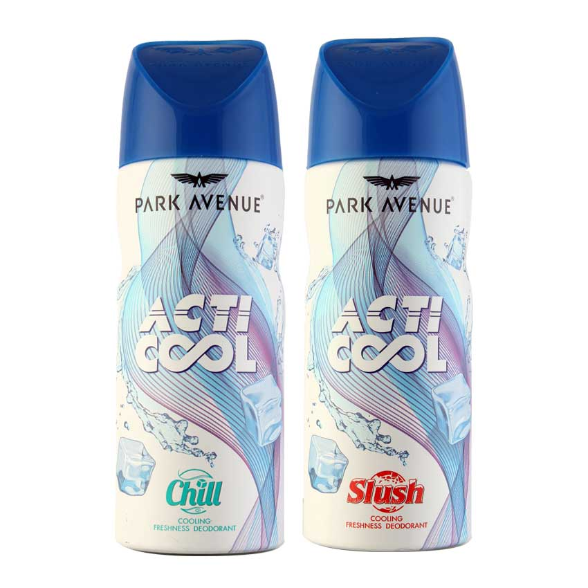 Park Avenue Acti Cool Deo Slush and Chill - For men (Buy one get one) + Upto 100% Cashback